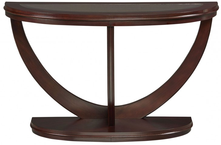 La Jolla Dark Merlot Sofa Table