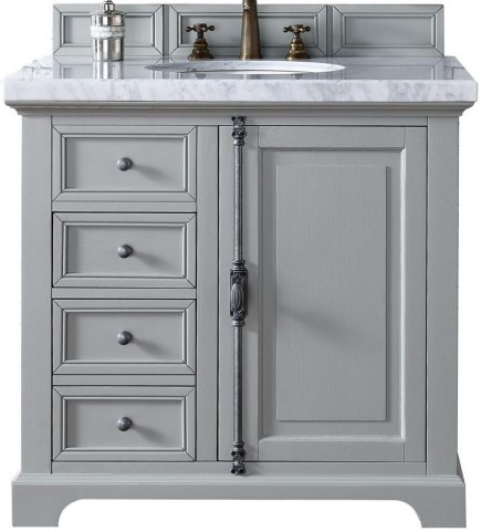 "Providence 36"" Urban Gray Single 4Cm Top Vanity"