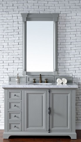 "Providence 48"" Urban Gray Single 4Cm Top Vanity"