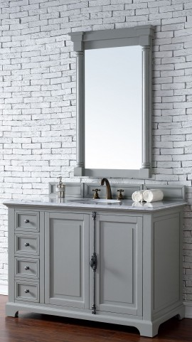 "Providence 48"" Urban Gray Single 2Cm Top Vanity"