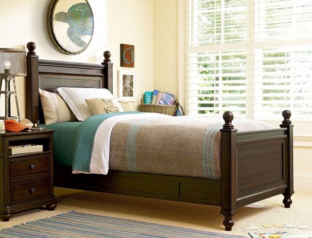 Paula Deen Guys Smartstuff Guy's Low Post Bedroom Set