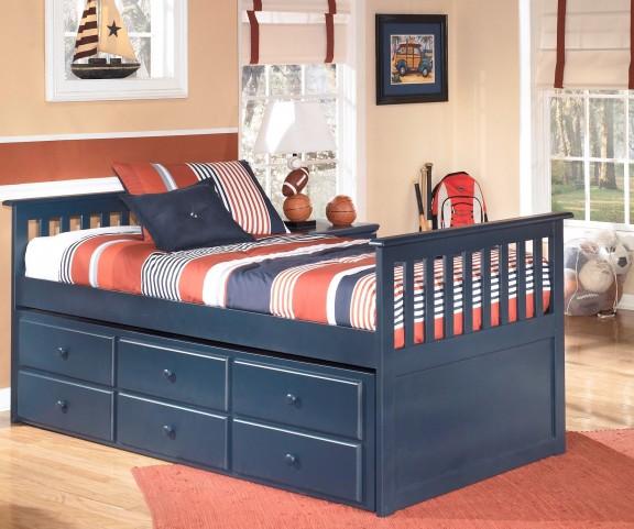 Leo Youth Trundle Storage Bedroom Set