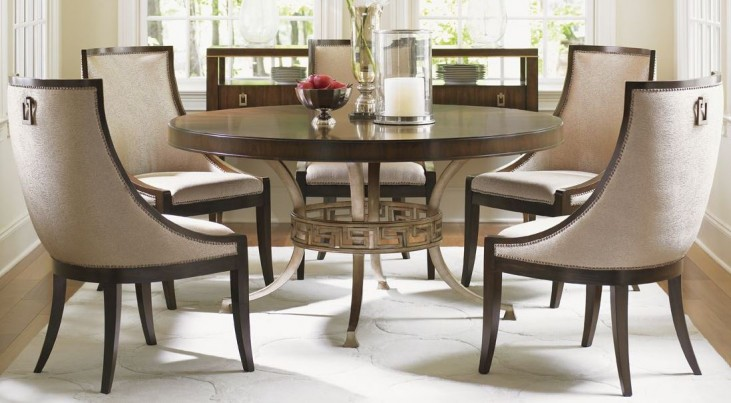 Tower Place Regis Round Dining Room Set
