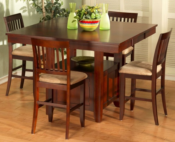Brendan Counter Height Storage Dining Room Set