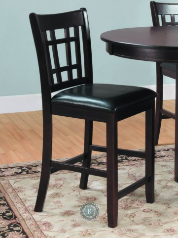 Junipero Counter Height Chair Set of 2