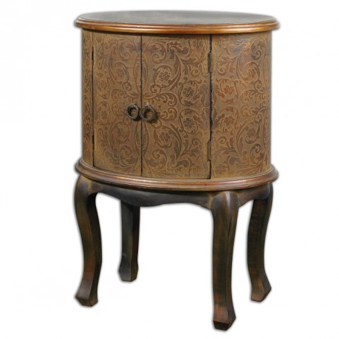 Ascencion Storage Accent Table