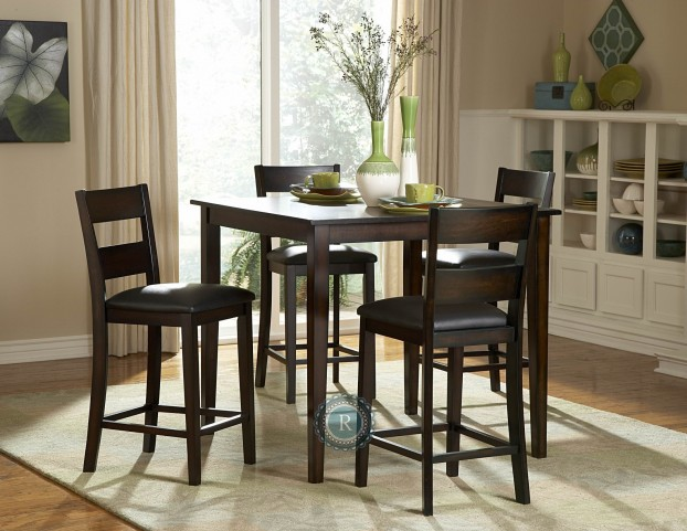 Griffin 5-Piece Pack Counter Height Set