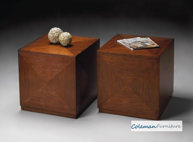 Chestnut Burl Bunching Cube