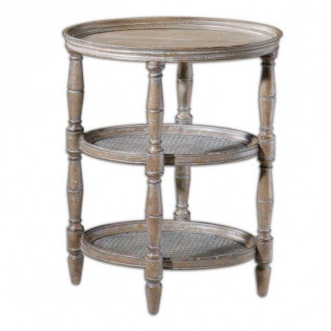 Kendellen Antique Accent Table