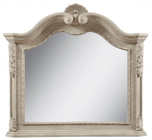 Renaissance Dove Grey Landscape Mirror