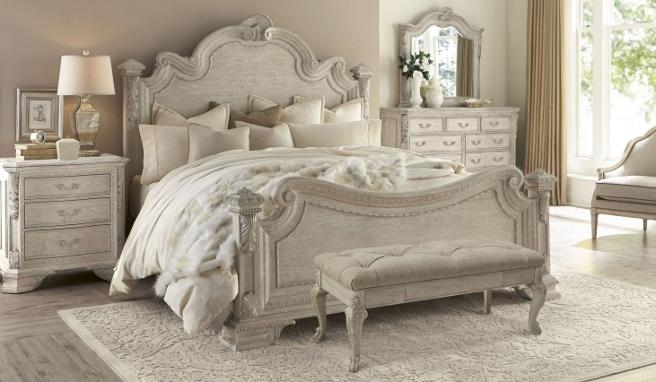 Renaissance Dove Grey Estate Bedroom Set