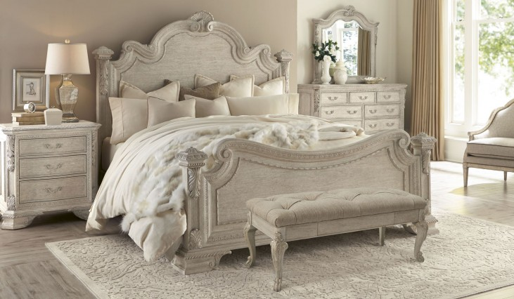 Renaissance Dove Grey Estate Bedroom Set