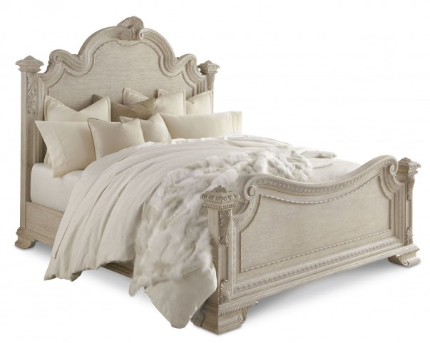 Renaissance Dove Grey King Estate Bed