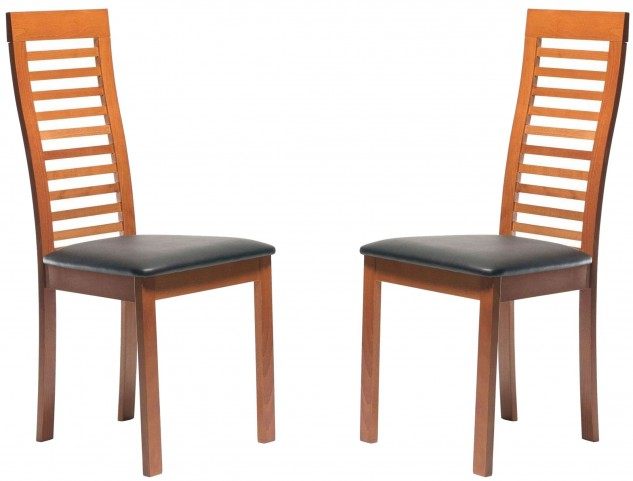 Beechwood Denver Cherry Dining Chair Set of 2