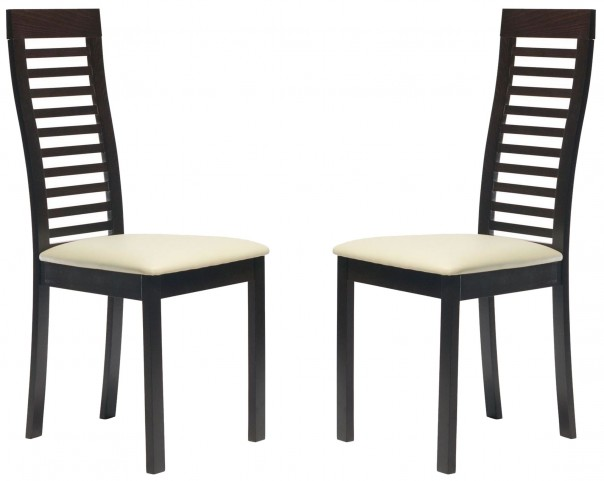 Beechwood Denver Coffee Dining Chair Set of 2