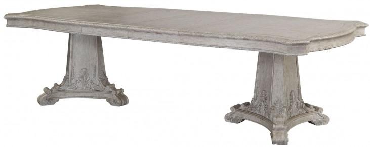 Renaissance Rectangular Double Pedestal Dining Table