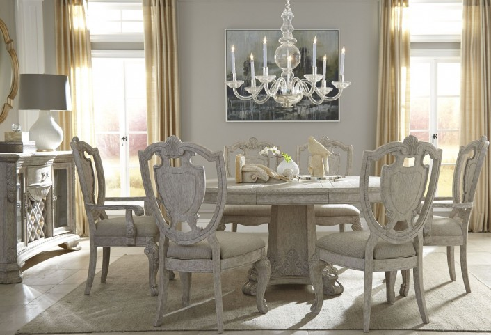 Renaissance Round Dining Room Set
