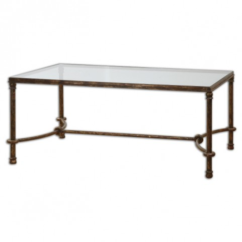 Warring Iron Coffee Table