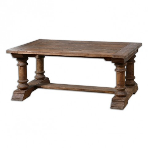 Saturia Wooden Coffee Table