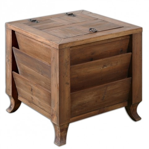 Rimmon Wooden Side Table