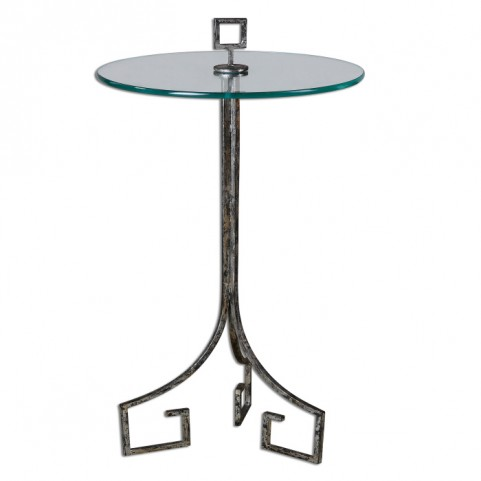 Grecia Iron Accent Table