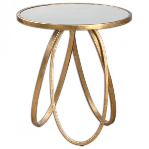 Montrez Gold Accent Table