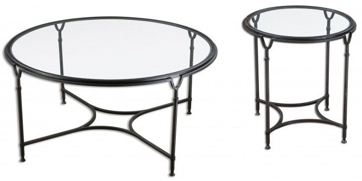 Samson Glass Occasional Table Set