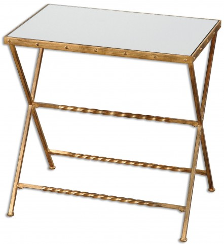 Azlyn Gold Side Table