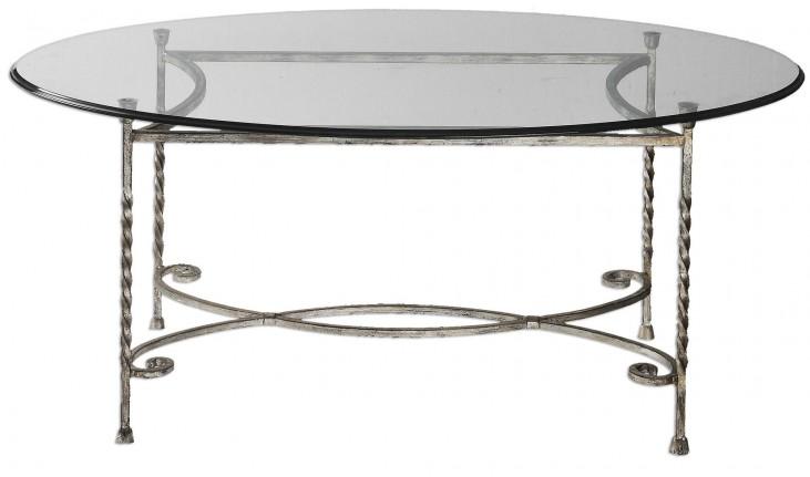Nuncia Glass Coffee Table