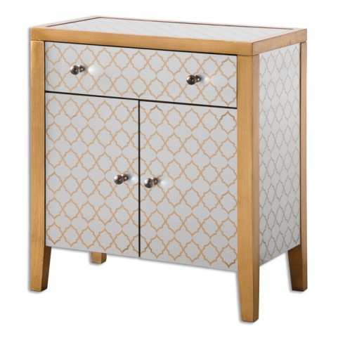 Karolina Mirrored Accent Chest