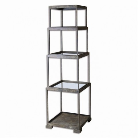 Friedman Metal Etagere