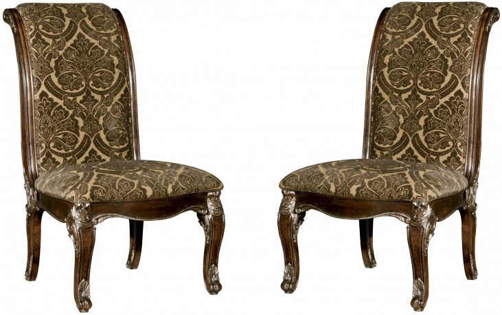 Gables Upholstered Back Side Chair Set of 2