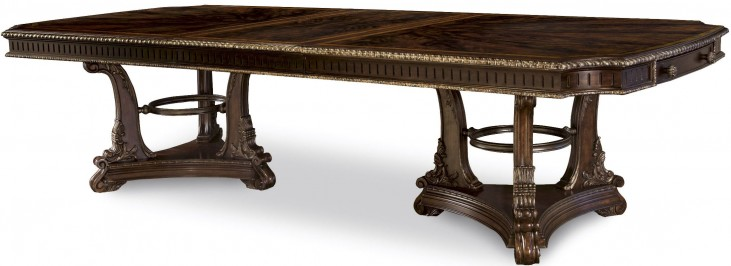 Gables Double Pedestal Extendable Dining Table