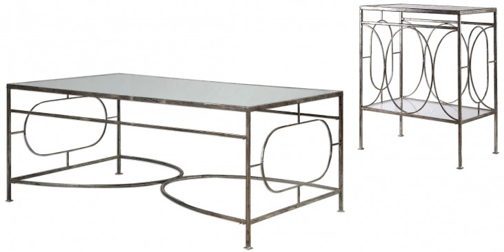 Luano Silver Occasional Table Set