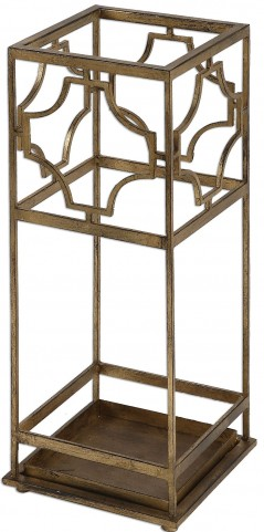 Genell Gold Iron Umbrella Stand