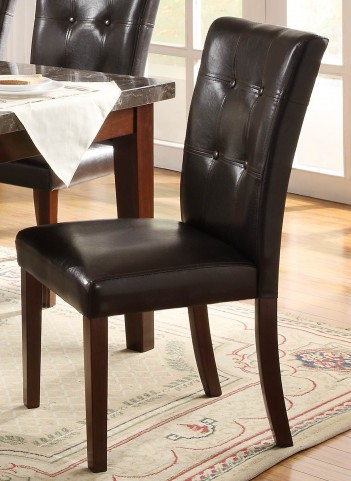 Decatur Espresso Side Chair Set of 2