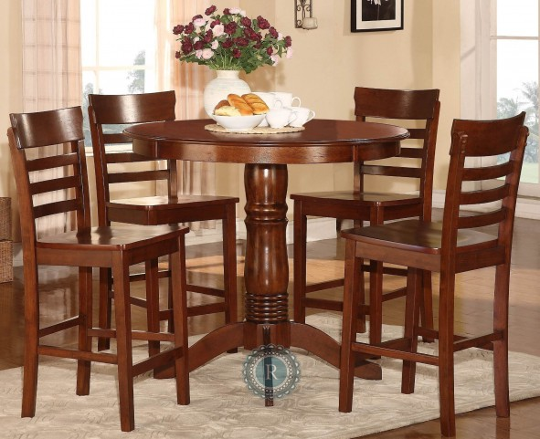 Wayland 5-Piece Pack Counter Height Set
