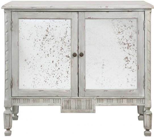 Okorie Gray Console Cabinet