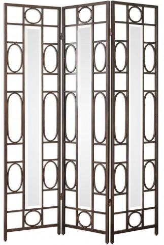 Keagan Iron Floor Screen