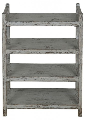 Reilley Gray Shoe Rack