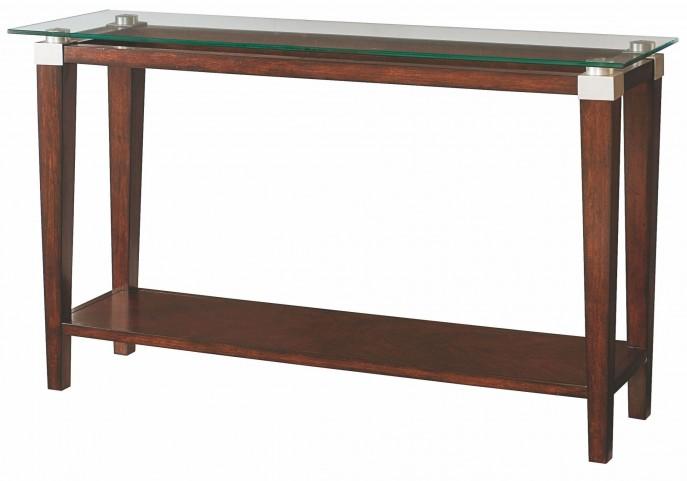 Solitaire Dark Brown Sofa Table