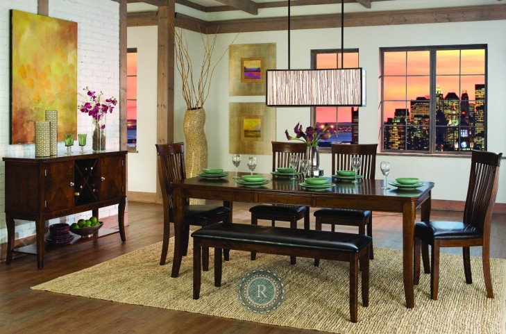 Alita Extendable Dining Room Set