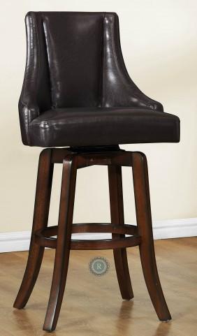 Annabelle Brown Pub Height Chair Set of 2