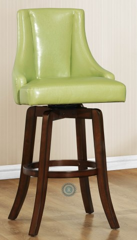 Annabelle Green Pub Height Chair Set of 2
