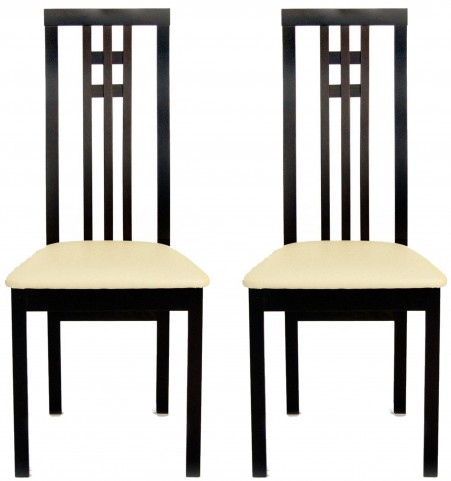 Beechwood District Coffee Dining Chair Set of 2
