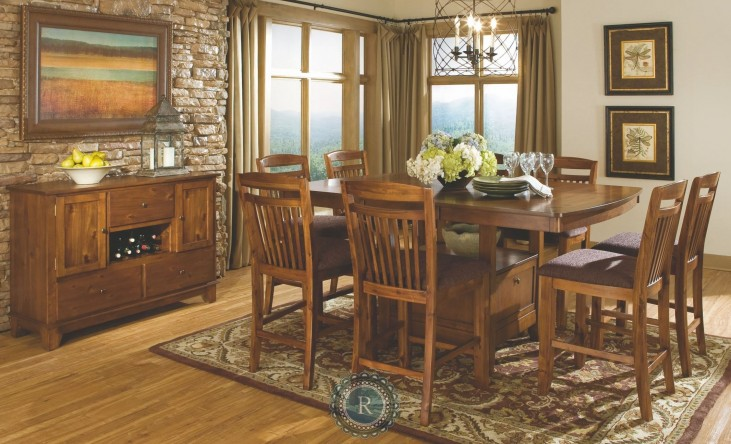 Marcel Counter Height Extendable Dining Room Set