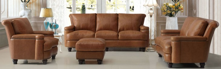 Hutton Saddle Living Room Set