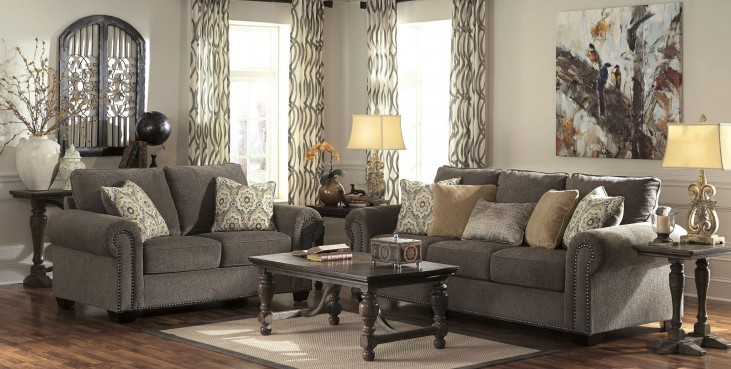 Emelen Alloy Living Room Set