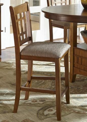 Santa Rosa 24 Inch Upholstered Barstool Set of 2