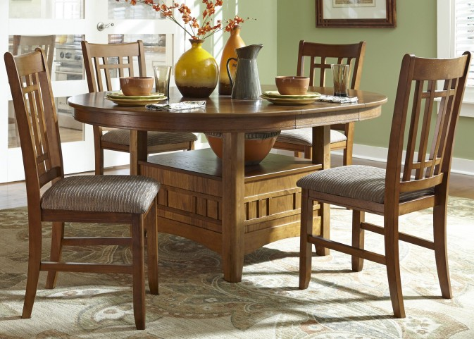 Santa Rosa Pedestal Table - Liberty Furniture
